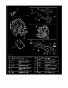 Ford Fusion Transmission Diagram
