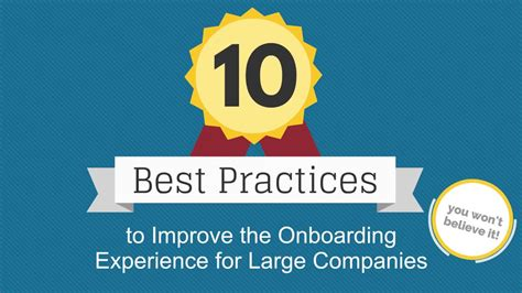 10 Best Practices To Improve Employee Onboarding Youtube