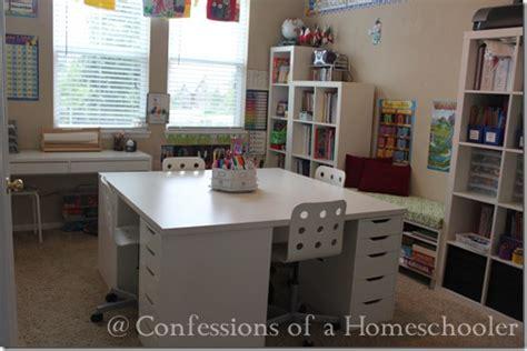 homeschool desk ideas our ikea school desks confessions of a homeschooler