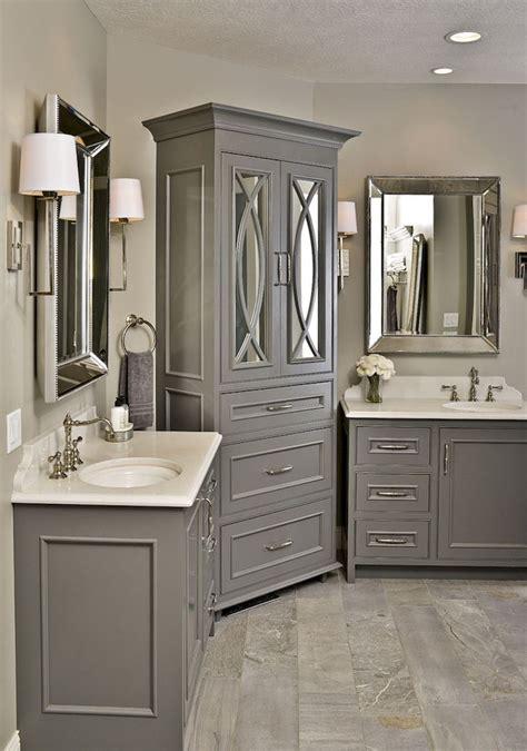 gray bathroom vanities ideas  pinterest grey