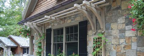 exterior house decor exterior home d 233 cor shutters railings trellis