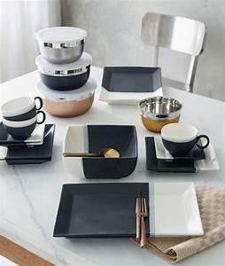 Teller Schwarz Weiß : teller schwarz eckig wohn design ~ Eleganceandgraceweddings.com Haus und Dekorationen