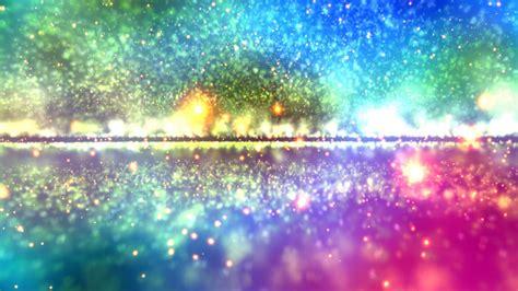 Sparkling Image 4k Colorful Sparkling Rainbow Particle Horizon