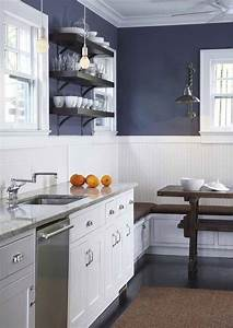 best 25 blue walls kitchen ideas on pinterest kitchen With kitchen colors with white cabinets with blue and gray wall art
