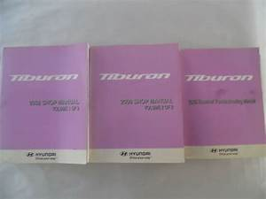 2008 Hyundai Tiburon Service Repair Manual Includes Wiring