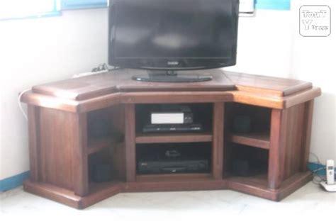 meuble tele en coin table rabattable cuisine meuble tv coin