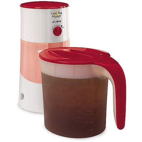 The programmed recipe is, in fact, a latte macchiato because it adds espresso into the hot milk foam. Mr. Coffee Iced Tea Maker, Assorted Colors - Walmart.com