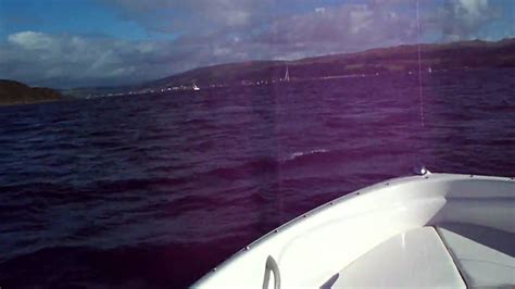 Small Boat Big Waves by Small Boat Bayliner 175 In Big Waves Part 2 In Hd