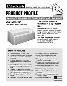 Wallmaster Packaged Terminal Air Conditioners And Heat