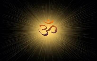 Om Symbol Wallpapers Desktop Hindu 3d Mobile