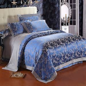 free shipping top 4pcs jacquard cotton bedding sets comforter set jacquard duvet cover set