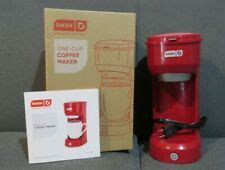 Dash coffee isn't as rich and flavorful as traditional cold brew. One Cup Coffee Maker for sale | eBay