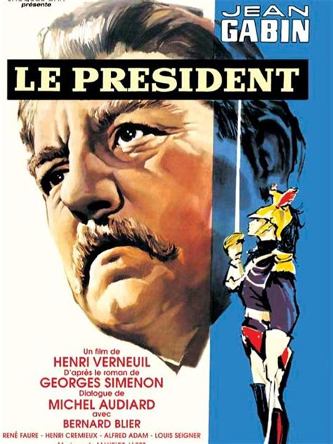 jean gabin president affiche du film le pr 233 sident affiche 1 sur 1 allocin 233