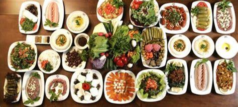 cuisine libanaise mezze les particularités de la cuisine libanaise