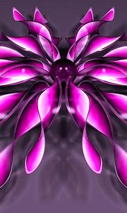 Pink flower - Abstract and 3D wallpaper Wallpaper Download ...