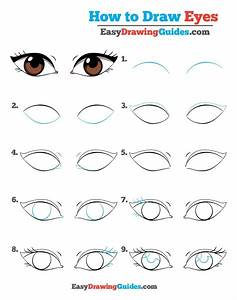 How To Draw Eyes  U2013 Really Easy Drawing Tutorial