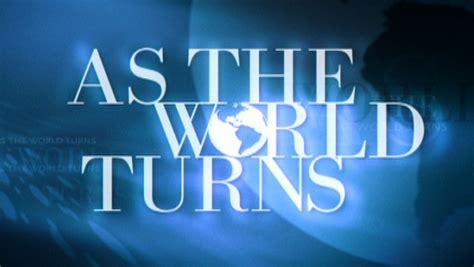 fan van   world turns moet  de rouw tv radio adnl