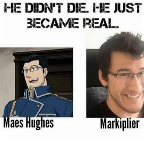 Matpat Memes - rie didnt die he just became real aes hughes marki plier meme on me me