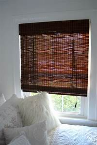 bamboo roman shades DIY Privacy Liner for Bamboo Roman Shades |Exquisitely Unremarkable