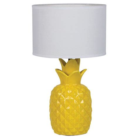 pineapple ceramic table lamp target australia