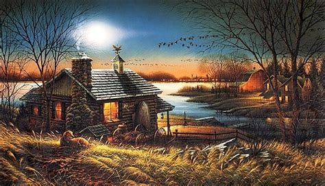 pure contentment  terry redlin terry redlin paintings