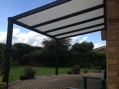 Fixed Roof Terrace Covers from Samson Awnings & Terrace Covers