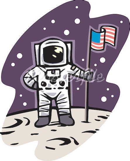 astronaut on moon clipart in the moon clipart clipground