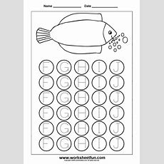 Image Detail For Letter Tracing Worksheets For Kindergarten  Capital And Small Letters