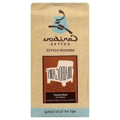 Expect bold, dry spice along with heady, aromatic wood and leather flavors. Caribou Coffee Mahogany Dark Roast Ground Coffee 2
