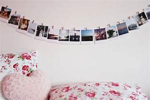 Fotowand gestalten mit Washi Tape, Wäscheklammern und Co