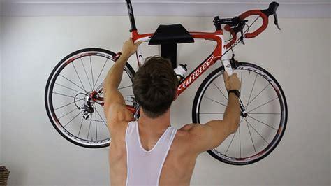 sculptural bike wall mount  designed  display  ride   work  art contemporist