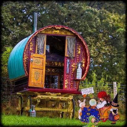 Gypsy Caravan Wagon Hippie Boho Bohemian