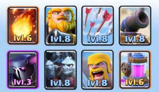 Good Clash Arena Royale 8 Decks