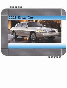 Lincoln Town Car 2008 Factory Service  U0026 Shop Manual