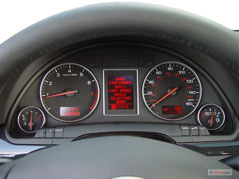 auto manual repair 2003 audi rs6 instrument cluster image 2003 audi a4 4 door sedan 1 8t quattro awd auto instrument cluster size 640 x 480 type