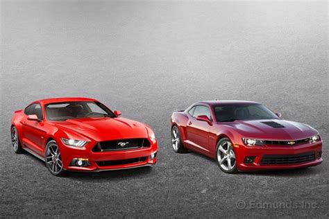 2015 Mustang Vs 2015 Camaro by 2015 Ford Mustang Vs 2015 Chevrolet Camaro Car Statement