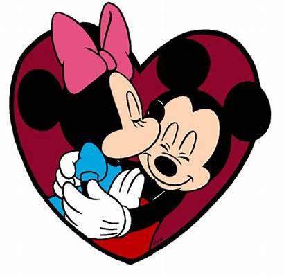 Mickey Minnie Mouse Disney Valentines Clipart Valentine