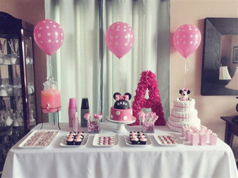 Minnie Mouse Baby Shower Decorations  Baby Shower