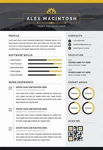 Good Resume Formatting Modern Resume Word Template Modern Downloadable Cv Ms Word