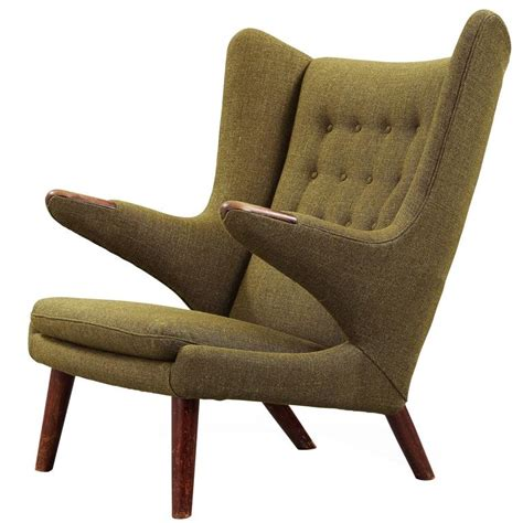 hans j wegner papa easy chair for sale at 1stdibs