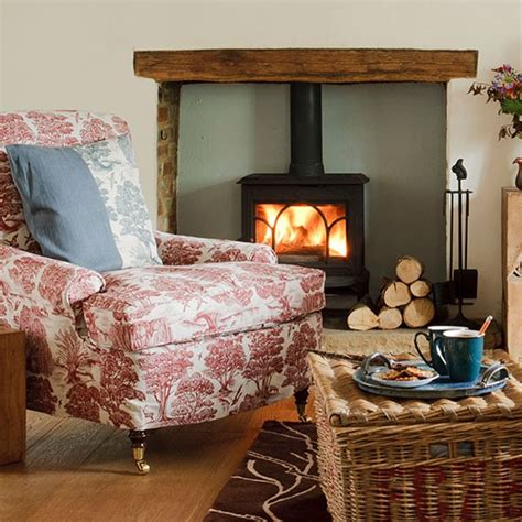 Country Living Room Ideas Uk by Winter Decorating Housetohome Co Uk