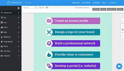Widget Smart Business Venngage Templates Sections Features