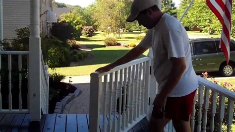 front porch ideas rolling gate   porch youtube