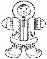 Eskimo Coloring Igloo Pages Inuit Clipart Zipper Arctic Google Inuits Printable Colouring Preschool Craft αναζήτηση Winter Crafts Polar Getcolorings Bear sketch template