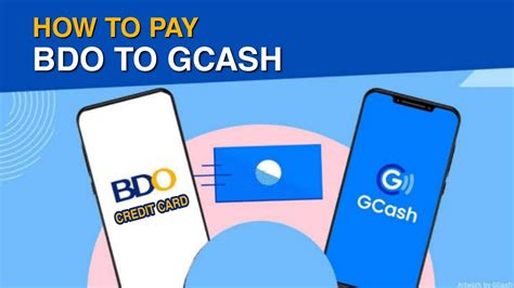 Pay bdo credit card using gcash. How to Pay BDO CREDIT CARD in GCASH with NO CHARGE | Step by Step for Beginners - YouTube