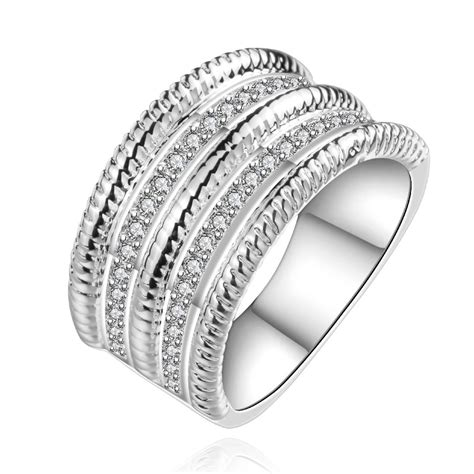 2015 New Fashion 925 Silver Stamp Bulgary Rings The Lord