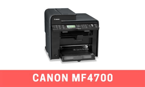 Our site provides an opportunity to download for free and without registration different types of canon printer software. Canon MF4700 Driver for Windows 10, 8, 7