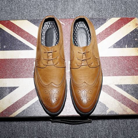 New Fashion Casual Italian Stylist Men Flat Formal Oxfords