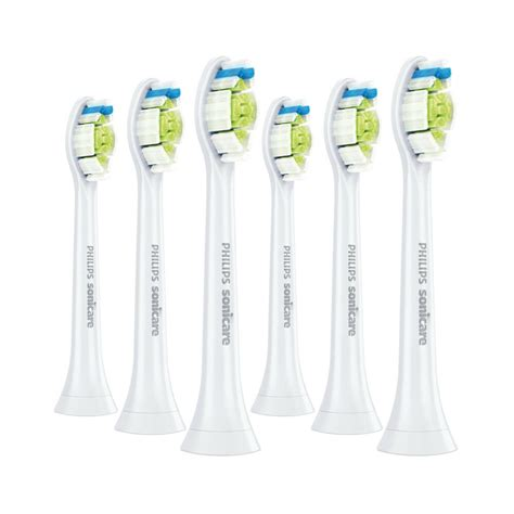 6-Pack Philips Sonicare DiamondClean Genuine White Brush
