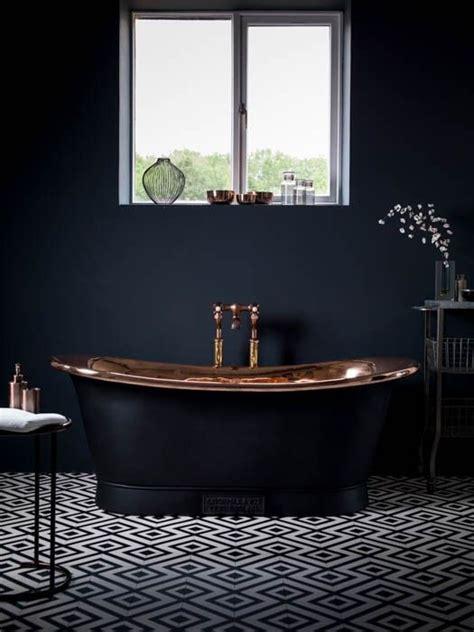 black bathroom 25 best ideas about black bathtub on pinterest outside tiles vintage bathroom floor and